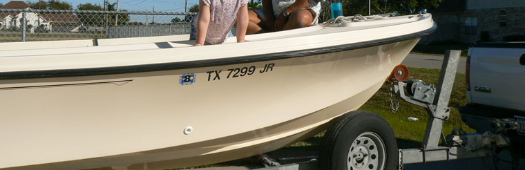Galveston Fishing Charters - Parker Boat